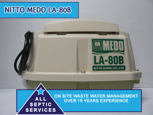 Nitto-Medo-LA-80B Septic Pump | All Septic Services