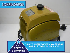 Sakuragawa Septic Pump / Air Blower - All Septic Services