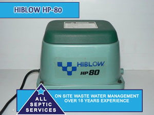 Techno Takatsuki Hiblow HP-80 Septic Pump | All Septic Services