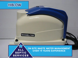NEW Hi-Blow XP80 Septic Pump