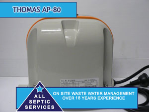 Thomas AP80  Septic Pump | All Septic Services