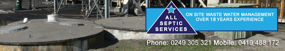Septic Pumps and Products - All Septic Services, Hunter Valley